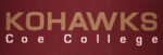 "Kohawks Coe College 18"" X 54"" Cut From C&A, Interfaceflor Carpet Tiles Shown Prior To Installation"