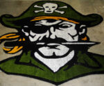 Plainsboro 29′ X 33′ Football Field Center Logo Cut From Artificial Turf Shown Prior To Installation