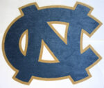 UNC Carpet Logo 8 Logos Were Cut and Installed In The New Athletic Building On UNC's Campus Shown Prior To Installation